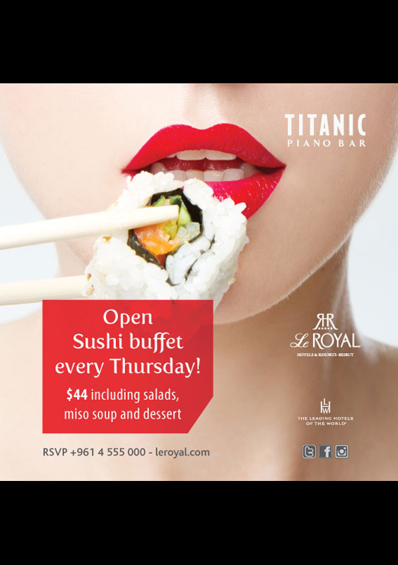 Open Sushi Buffet