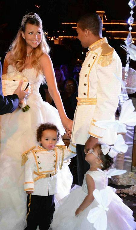 Beiruting Life Style Blog Mariah Carey Plays Cinderella In Her Wedding Rerun