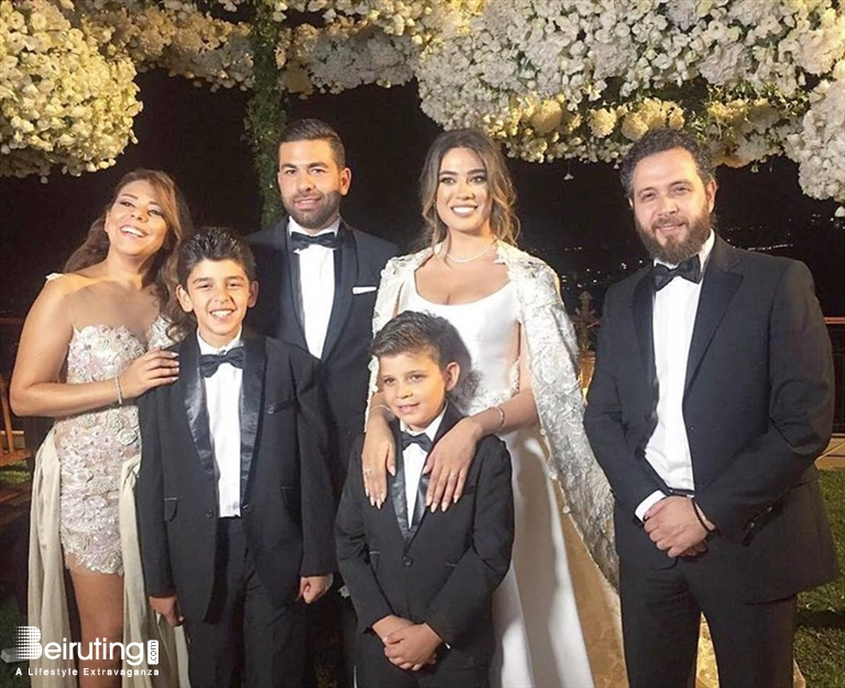 Cau Rweiss Jounieh Wedding Nadine Wilson Njeim Ties The Knot With Ramzy Dib Lebanon