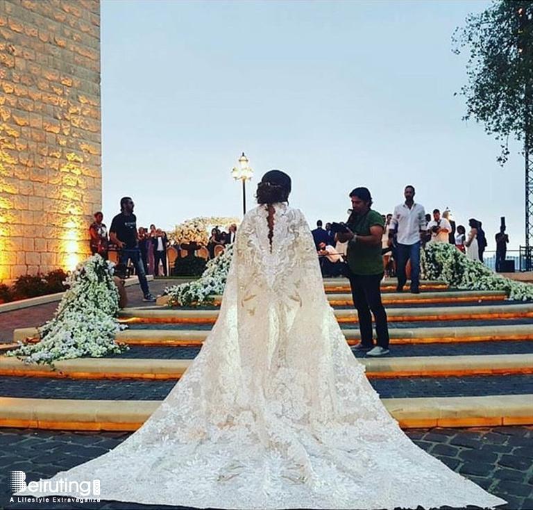 Cau Rweiss Jounieh Wedding Nadine Wilson Njeim Ties The Knot With Ramzy Dib Lebanon