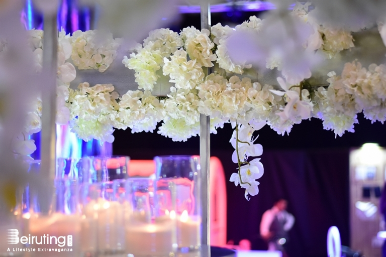 Forum De Beyrouth Beirut Suburb Social Event Flower Concept At The Royal Wedding Fair Lebanon