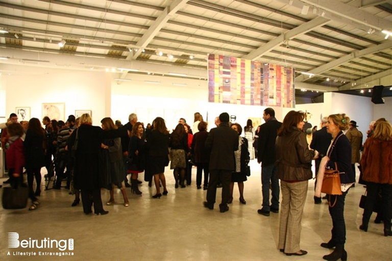 Beiruting - Events - Opening Exhibition of HUGUETTE CALAND