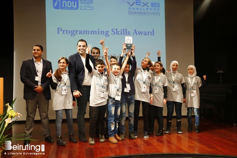 Beiruting Events The 4th Vex Robotics Competition In Lebanon