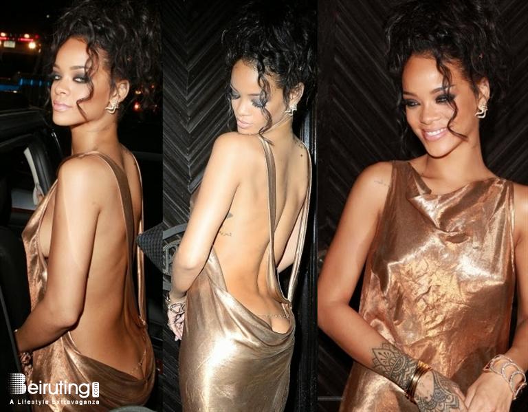 Rihanna Butt Crack