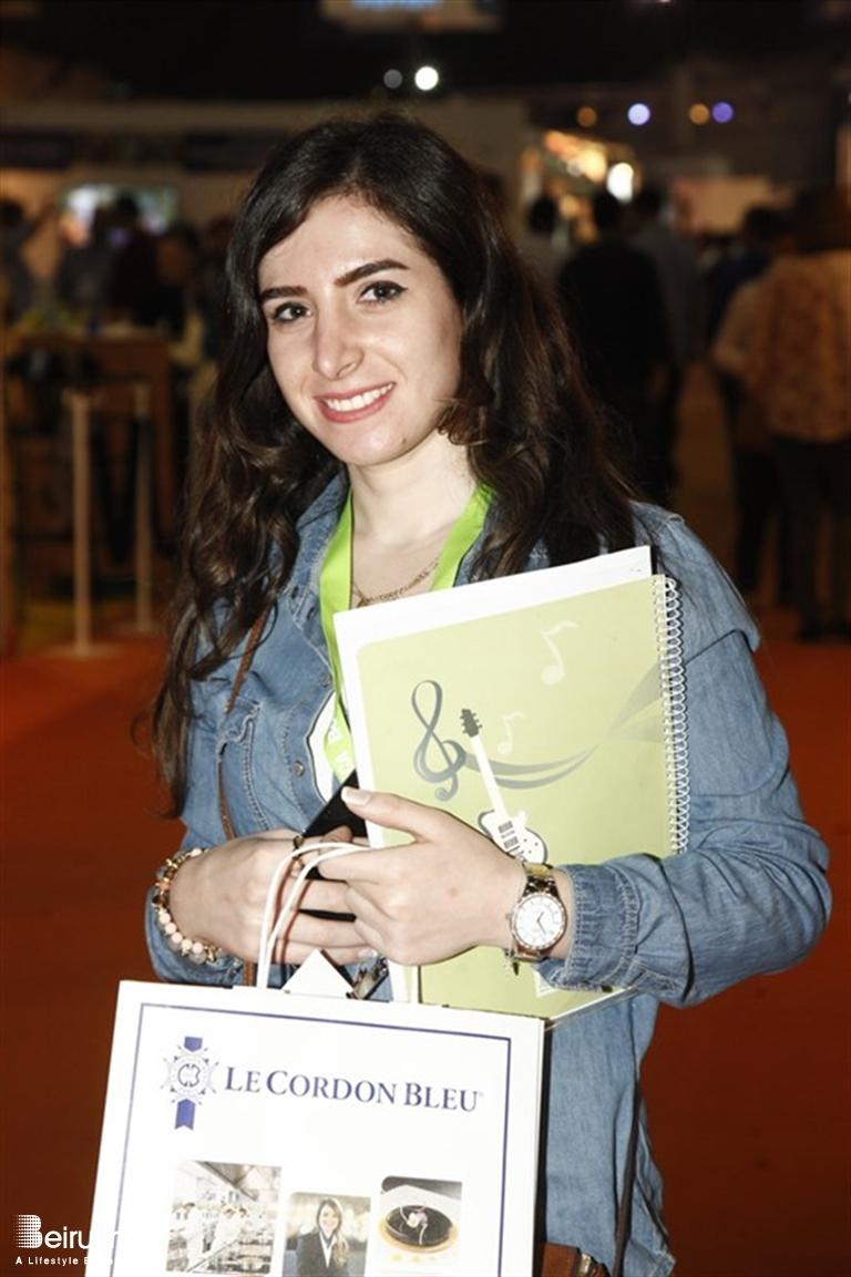 Frances Beir with beiruting - events - horeca trade show 2016