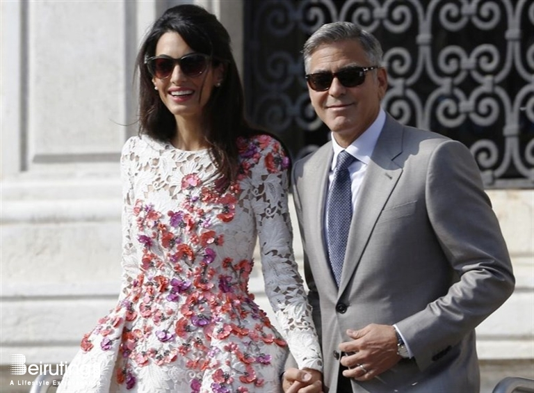 Beiruting Life Style Blog Amal Alamuddin Clooney Puts Law Career On Hold To Become A Celebrity Fashion Designer