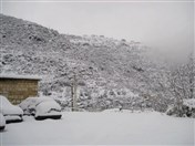 Snow covers all over Lebanon Photo Tourism Visit Lebanon