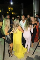 Miramar Hotel Resort and Spa Tripoli Nightlife SkyLounge rooftop on Saturday Night Lebanon