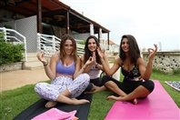 Le Blanc Bleu Jbeil Outdoor Hatha Yoga Session at Le Blanc Bleu Lebanon