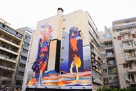 Activities Beirut Suburb Social Event Art Of Change By Ahla Fawda Returns With New Colors To Hamra Street  Lebanon