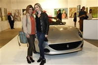 Le Yacht Club  Beirut-Downtown Exhibition Opening of Art For Life Exhibition Lebanon
