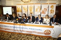Phoenicia Hotel Beirut Beirut-Downtown Social Event Baalbeck International Festival Press conference  Lebanon