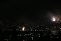 Trinidad Rooftop Jounieh Nightlife Jounieh Fireworks Show from Trinidad Lebanon