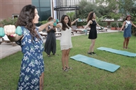 Hilton  Sin El Fil Outdoor Gathering around the pool at Hilton Beirut Habtoor Grand Lebanon