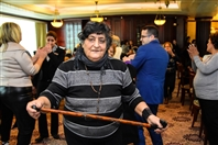 Hilton  Sin El Fil Social Event Hilton Beirut Metropolitan Palace's Christmas lunch for the elderly people Lebanon