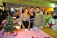 Mtayleb Country Club Dbayeh Social Event Opening of Christmas Exhibition 2012 Lebanon