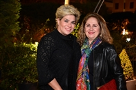 Barbizon Beirut-Ashrafieh Nightlife Surprise Party of Paula Yacoubian at Barbizon Restaurant Part1 Lebanon