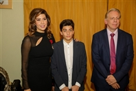 Social Event Paula Yacoubian received the Order of the Crown from the King of Belgium Lebanon