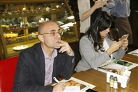 Al Mandaloun Cafe Beirut-Ashrafieh Social Event Schneider Electric's Press Conference Lebanon