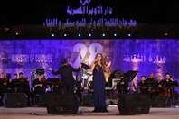 Around the World Concert Tania Kassis at Qalaa International Festival in Cairo Lebanon