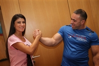 The Smallville Hotel Badaro Social Event Lebanese Arm Wrestling Championship Press Conference Lebanon