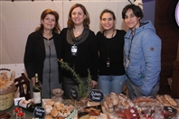 Trainstation Mar Mikhael Beirut-Gemmayze Exhibition Cheese Meats Bread - Winter Festival Lebanon