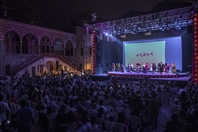 Beiteddine festival Concert The Political Circus at Beiteddine Art Festival Lebanon