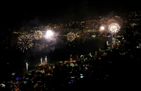 Bay Lodge Jounieh Nightlife Jounieh Fireworks Show from Bay Lodge Lebanon