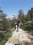 Outdoor Hiking at Tannourine Cedar Forest Lebanon