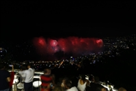 Bay Lodge Jounieh Nightlife JSF Fireworks from Bay Lodge Lebanon