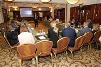 Phoenicia Hotel Beirut Beirut-Downtown Social Event Platform Horizon-The Financial Situation talk in Lebanon Lebanon