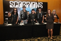 Four Seasons Hotel Beirut  Beirut-Downtown Social Event The Scorpions press conference Lebanon