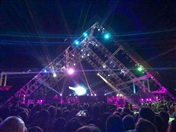 Activities Beirut Suburb Concert Shakira at Cedars Festival Lebanon