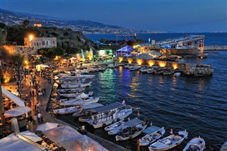 Byblos At Night Photo Tourism Visit Lebanon