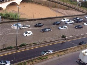 Heavy Rain in Lebanon-April Photo Tourism Visit Lebanon