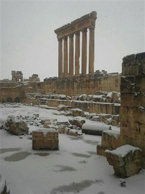 Alexa Snow Storm Photo Tourism Visit Lebanon