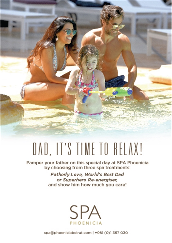 Phoenicia Hotel Beirut Beirut-Downtown Social Event Dad, It's Time to Relax Lebanon