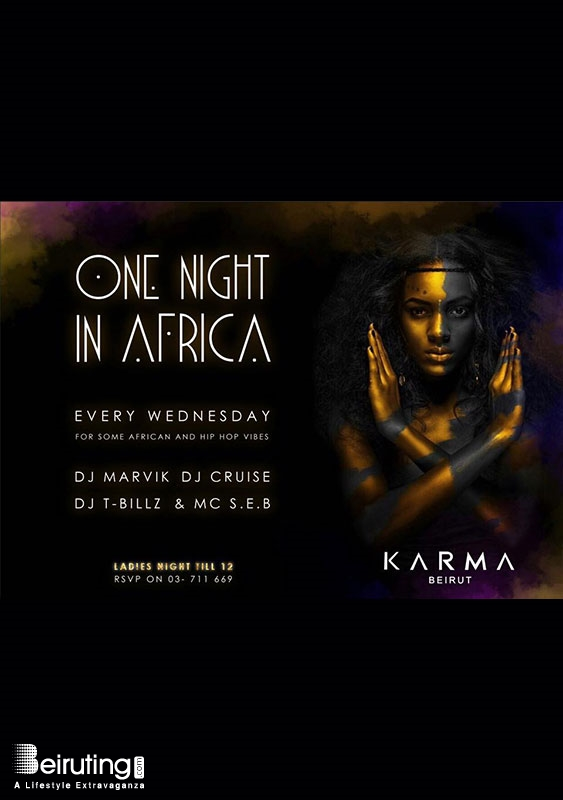 Karma Beirut Beirut-Gemmayze Nightlife One Night in Africa Lebanon