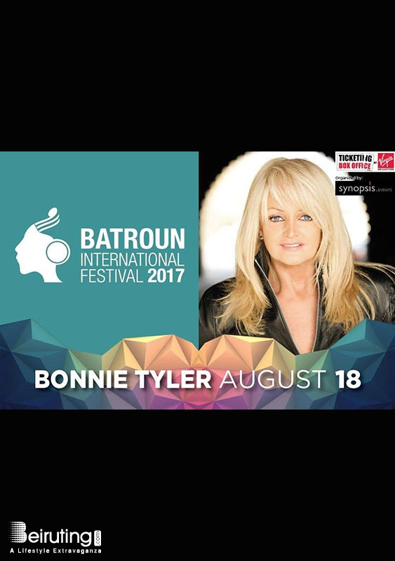Batroun International Festival  Batroun Festival Bonnie Tyler at Batroun International Festival Lebanon