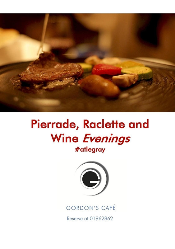 Gordon's Cafe-Le Gray Beirut-Downtown Social Event Pierrade Raclette and Wine Evenings Lebanon