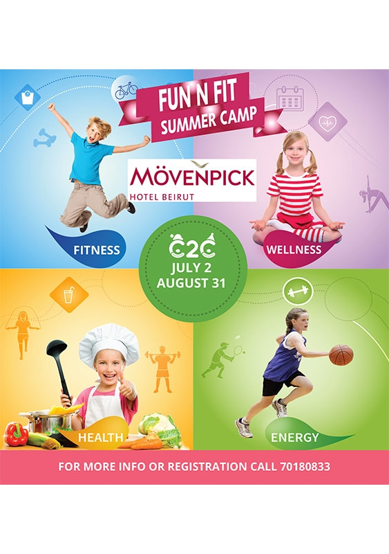 Movenpick Social Event Summer Camp at Movenpick Hotel Beirut Lebanon