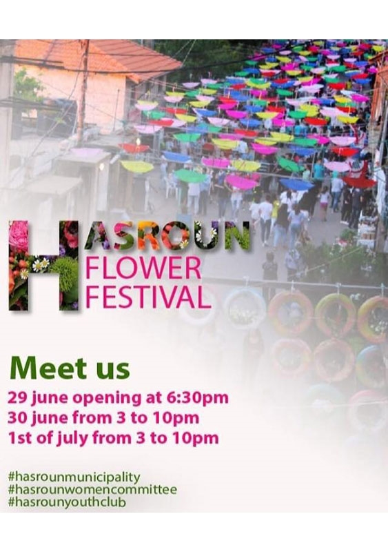 Activities Beirut Suburb Outdoor Hasroun Flower Festival Lebanon