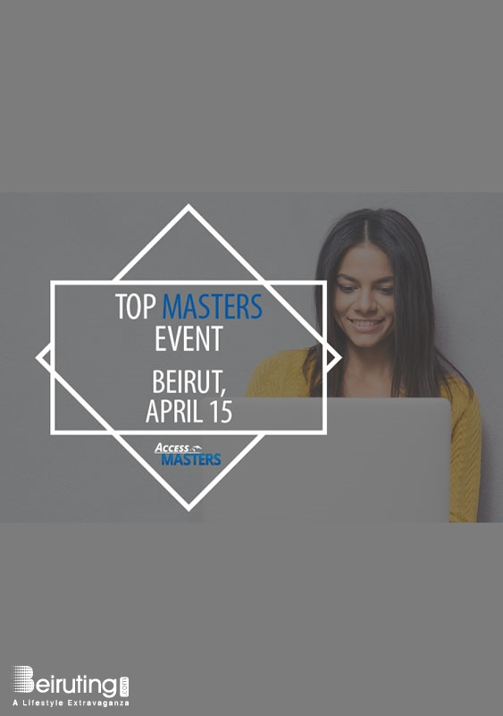 Le Gray Beirut  Beirut-Downtown University Event Meet top international Masters programmes in Beirut on April 15th   Lebanon