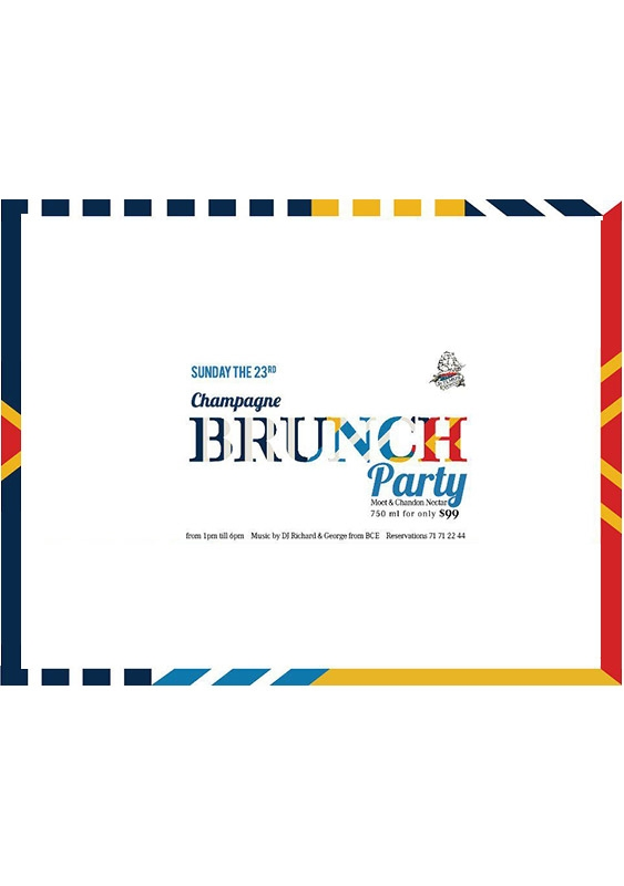 St Elmos Seaside Brasserie Beirut-Downtown Social Event Champagne Brunch Party Lebanon