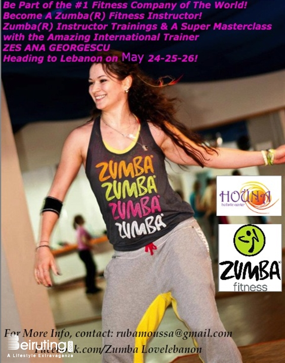Houna Holistic Center Beirut-Hamra Social Event Celebrity Zumba Trainer In Lebanon Lebanon