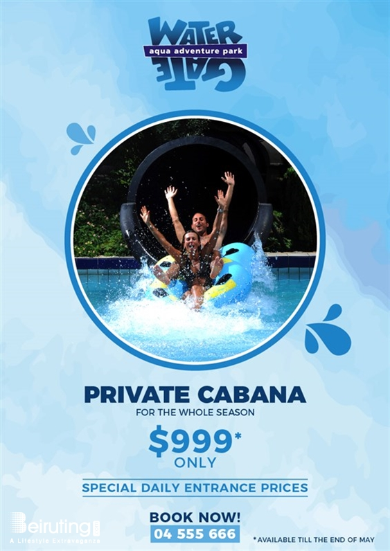 Watergate Dbayeh Outdoor Watergate Cabana-May Promotion Lebanon