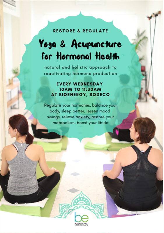Activities Beirut Suburb Social Event Yoga & Acupuncture for Hormonal Health Lebanon