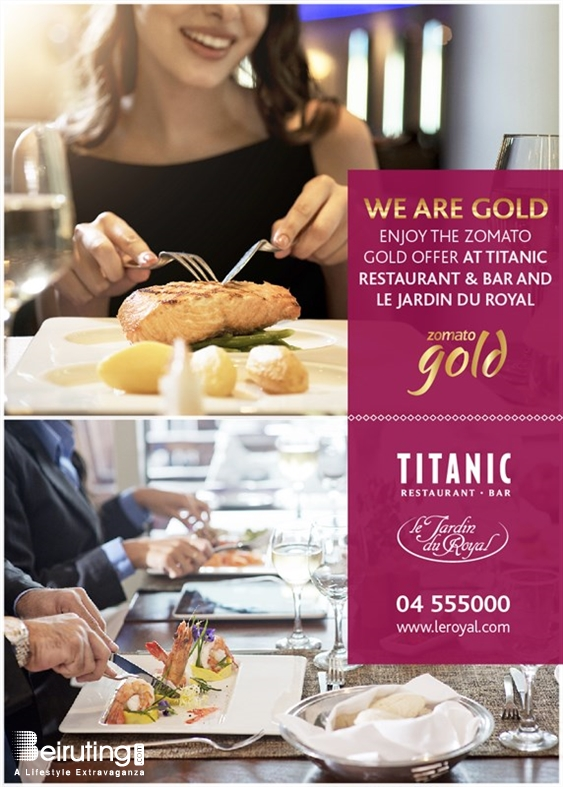 Le Royal Dbayeh Social Event Gold Offer at Le Royal Lebanon