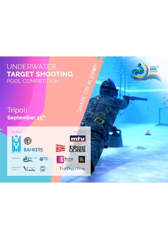 Activities Beirut Suburb Social Event LEBWF Target Shooting 2nd Underwater Competition Lebanon