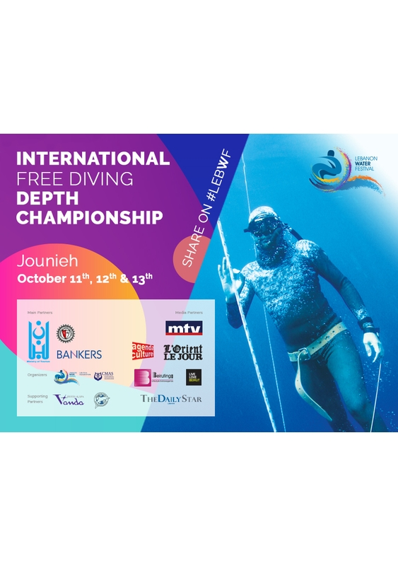 Activities Beirut Suburb Social Event LEBWF International Free Diving Depth Championship Lebanon